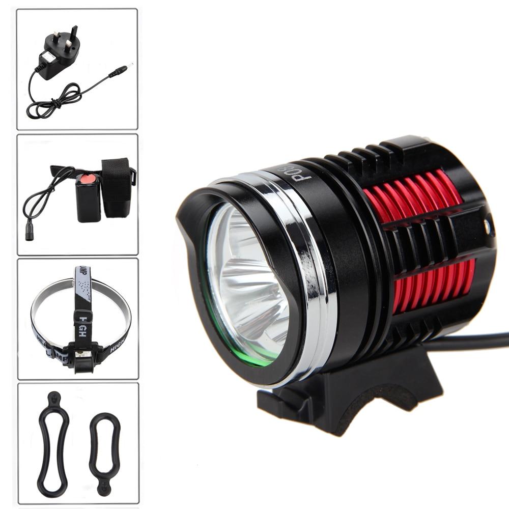 6000LM 3* XML R8 LED Cycling Head front Led Bicycle Light Headlamp Flashlight +Battery+Headband sitemap 8 xml