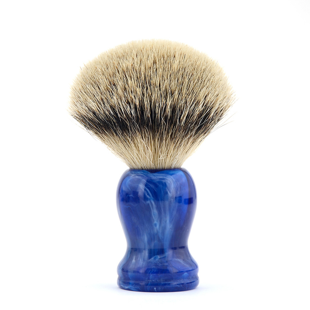 купить ZY First Grade Badger Hair Shaving Brush Men Shave Beard Razor Soap Barber Brush Gift Box по цене 1115.16 рублей