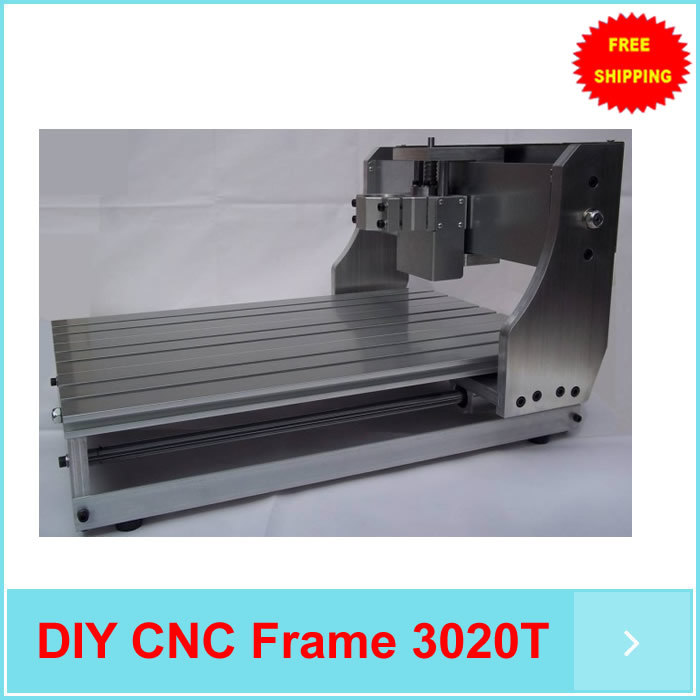 3020 CNC router ,DIY CNC frame with trapezoidal screw for small engraving machine, milling machine kit diy cnc router milling machine 2020 frame kit wood engraving cutting