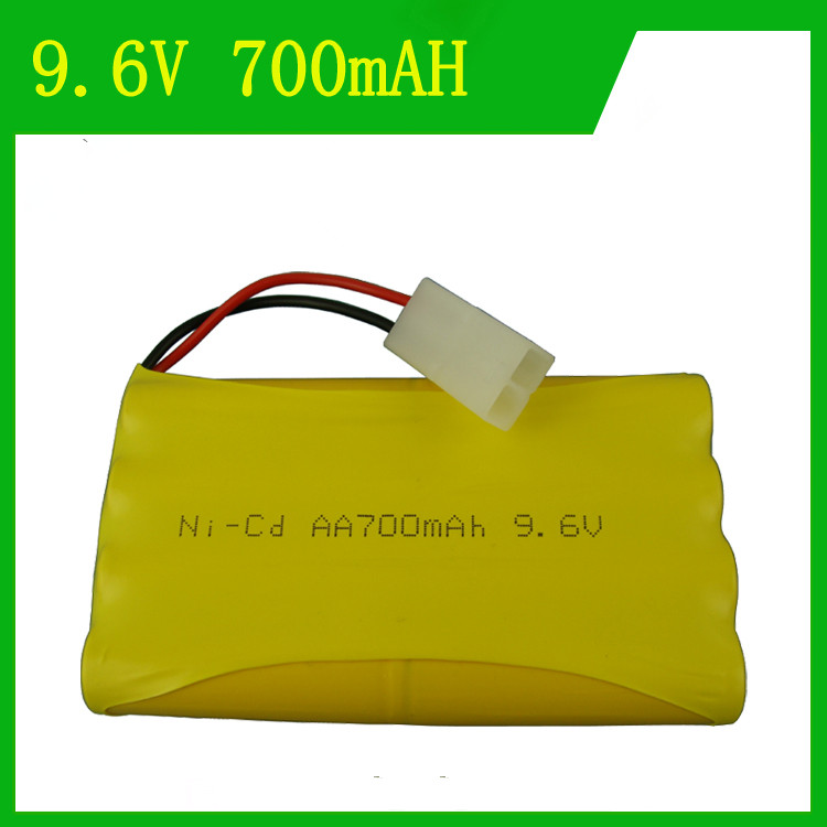 Cncool Remote control electric toy lighting 9.6V 700mAh Ni-CD battery AA rechargeable battery