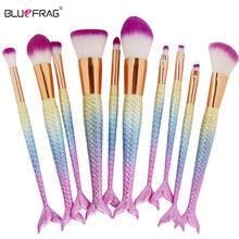 Promotion Makeup Brushes tools 10 6pcs Pro Make Up Brushes Set Comestic Beauty Eyeshadow Contour Concealer