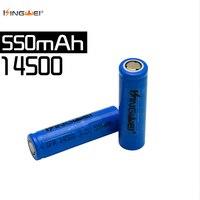 Kingwei 4 pz 3.2 v IFR 14500 AA formato LiFePO4 batteria 550 mah ricaricabile per la torcia elettrica della torcia della macchina fotografica Solare ha condotto la Luce