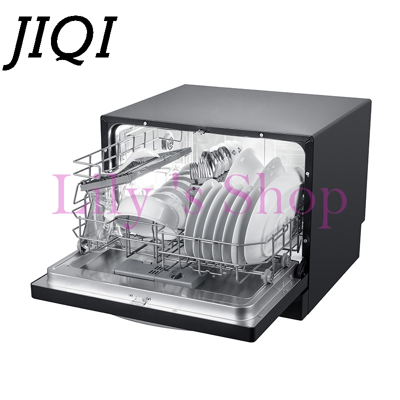 jiqi household automatic dishwasher intelligent embedded smart small mini desktop bowls dishes. Black Bedroom Furniture Sets. Home Design Ideas