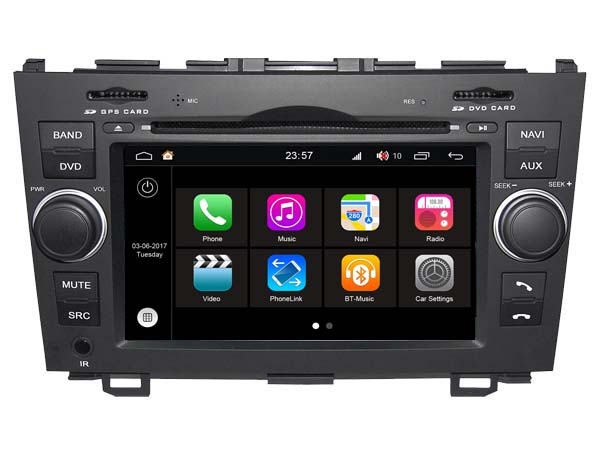 S190 Android 7.1 car dvd gps For HONDA CRV (2006-2011) Car Audio player navigation head unit device BT WIFI 3G