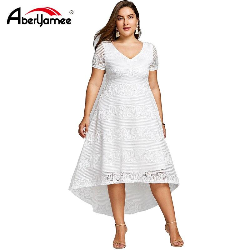 9d9cfb17ee ROSE GAL Summer Midi Dress Women Plus Size sundress Short Sleeves V ...