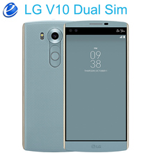 LG V10 H961N 2 sim 4G LTE dual sim Android мобильный телефон Hexa Core 5,7 ''16,0 Мп 4 Гб ram 64 Гб rom 2560*1440 смартфон