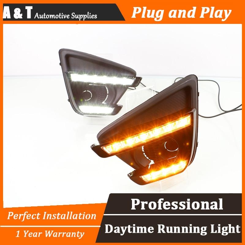 car styling For Mazda CX-5 LED DRL For Mazda CX-5 led fog lamps daytime running light High brightness guide LED DRL