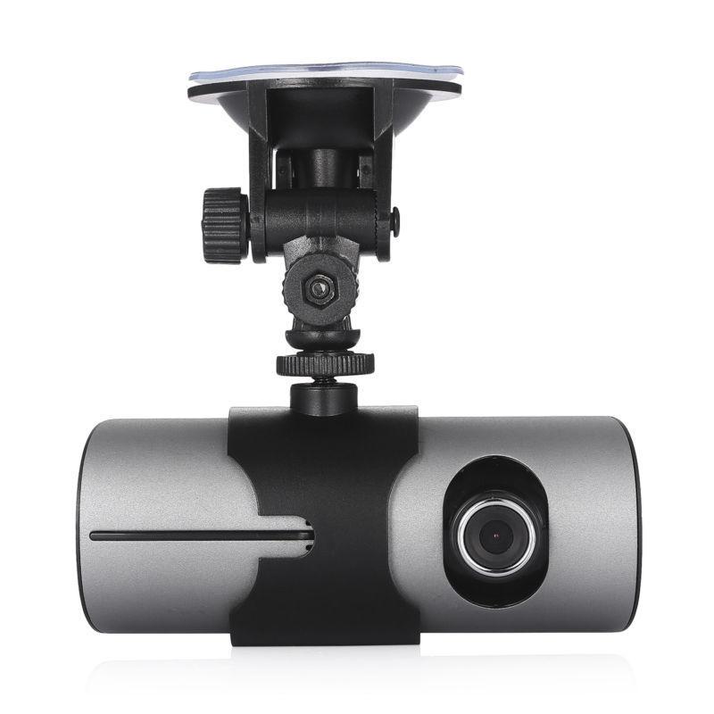 AKASO Double Lentille GPS Caméra HD Caméra de tableau de Bord De Voiture G-sensor DVR Enregistreur Vidéo Caméra Dash Cam Caméra X3000 r300 Voiture DVRs