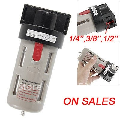 Free Shipping Brand New BF-4000 Air Filter Pneumatic Combination 1/4''-1/2 BF2000 and BF-3000 bf2000 02 pneumatic componment air filter