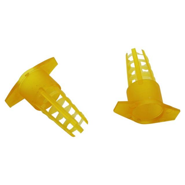 20 pcs Plastic Bee Queen Cage Protective Cover Cell Cages Protector Bee Tools Beekeeping Equipments