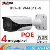 Original English Dahua DH IPC HFW4431E S Replace IPC HFW4421E 4MP HD WDR Network Small IR