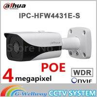 Original English Dahua DH IPC HFW4431E S Replace IPC HFW4421E 4MP HD WDR Network Small IR