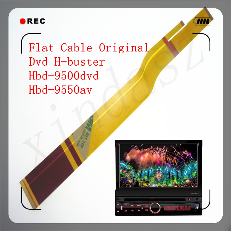 FLAT CABLE PAINEL CD MP3 DVD BASCULANTE DVD H BUSTER HBD 9500 9550 9600 ORIG