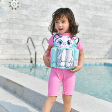fa8237900ec5a Kids Swimwear For Girls Swimming Suit Junior Swimsuit Bathing Suits 2018  Boys Drying Aids Children Floating