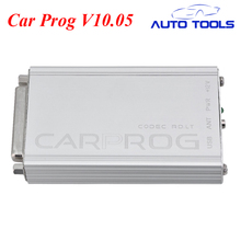 Newest Car prog Carprog V10.05 Full 21 Adaptor Professional Carprog ECU Programmer Auto Repair Airbag Reset Tools