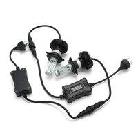 1Pair LED 50W 6500K White H4 H7 Car Headlight Bulbs Fog Light Lamp 12V 24V Auto