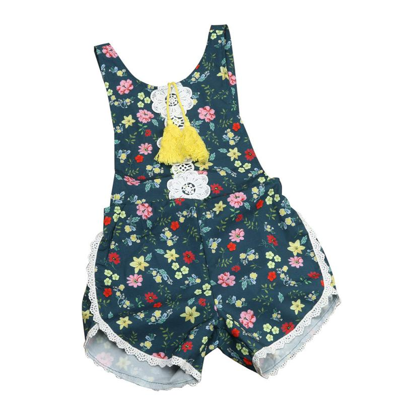 New Short Jumpsuit Infant Girl Boy Birthday Clothing Newborn Toddler Baby Girl Floral Romper Jumpsuit Outfit Sunsuit Clothes newborn infant baby girl clothes strap lace floral romper jumpsuit outfit summer cotton backless one pieces outfit baby onesie