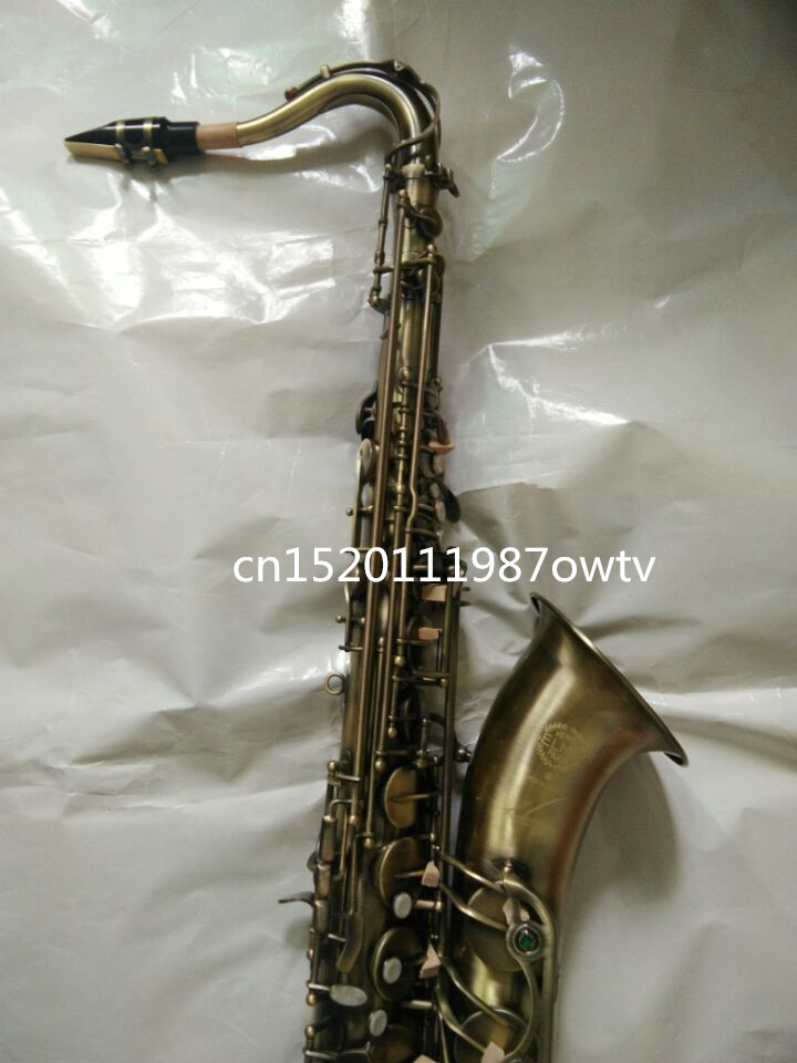 Brand new high quality Selmer Tenor Sax Bb 54 professional reference Sax Bronze Musical Instruments bb f tenor trombone lacquer brass body with plastic case and mouthpiece musical instruments