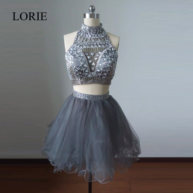 LORIE Short Two Pieces font b Prom b font font b Dresses b font 2017 font