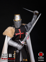 цены на Collection Full set China Toy 1/6 ZH006 Medieval Templar Knight Soldier Figure Model Colletible 12'' Action Figure Model Toy  в интернет-магазинах