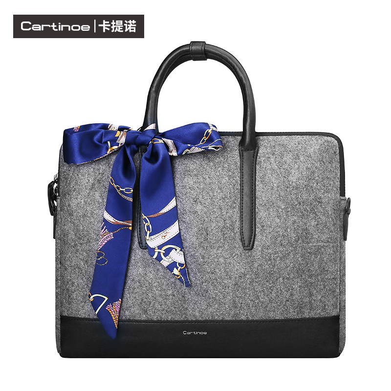 Cartinoe Fashion Handbag Laptop Sleeve Tablet PC Case Cover Protective bag 11.6 13.3 15  shoulder bags For Macbook Lenovo Dell