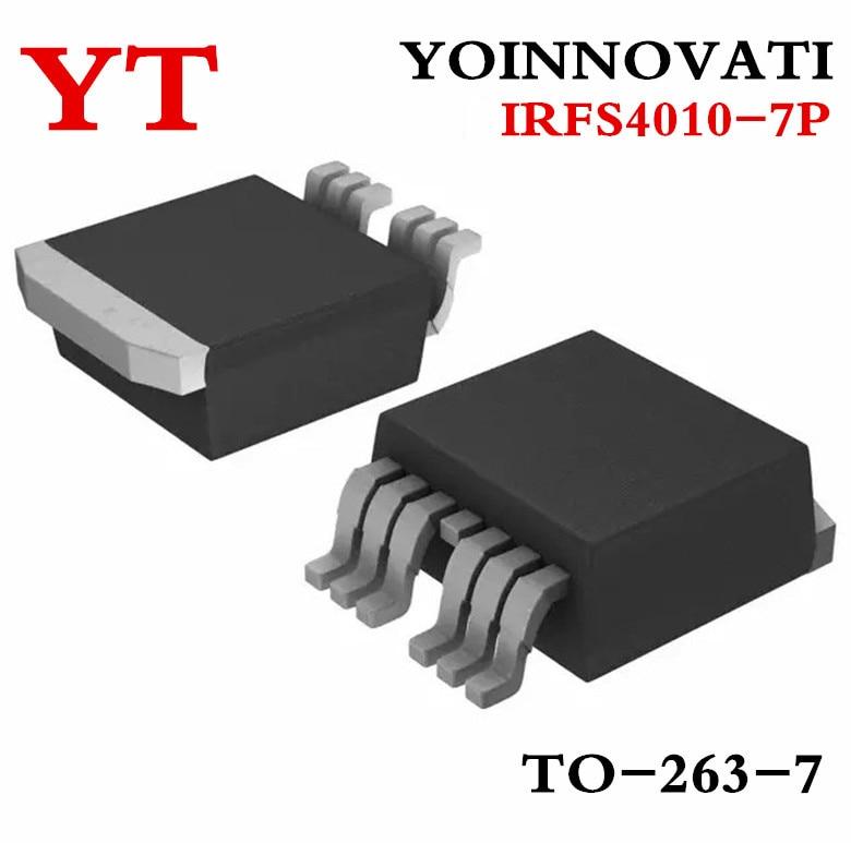 Free shipping 100pcs/lot IRFS4010-7P FS4010-7P MOSFET N-CH 100V 190A D2PAK-7 best quality