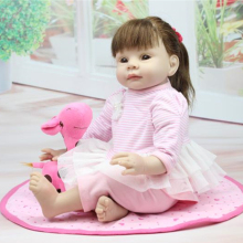 22 inch soft vinyl baby girl doll birthday gift girl toys