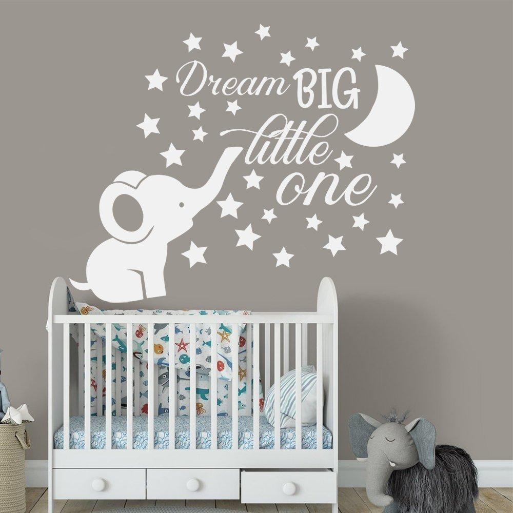 Elephant Nursery Wall Decal Baby Boy