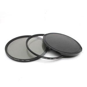 Image 2 - RISE(UK) 105mm Circular Polarizing Filter +UV filter+lens cap For Nikon Canon Pentax Sigma camera