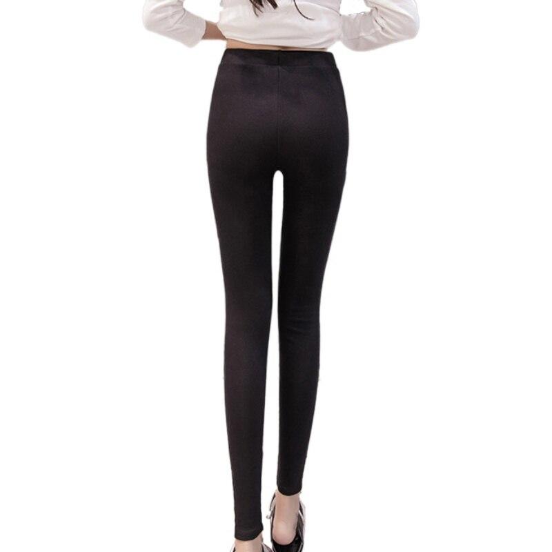 2018 Women Lady Activewear High Elastic Slim Black/Dark Gray Legging Autumn Pant High Waist Leggins Femael Plus Size 4XL 2