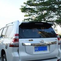 Auto Part ABS Plastic Black White Color Rear Trunk Boot Wing Spoiler For Toyota Cruiser Prado FJ150 FJ 150 2010 2018