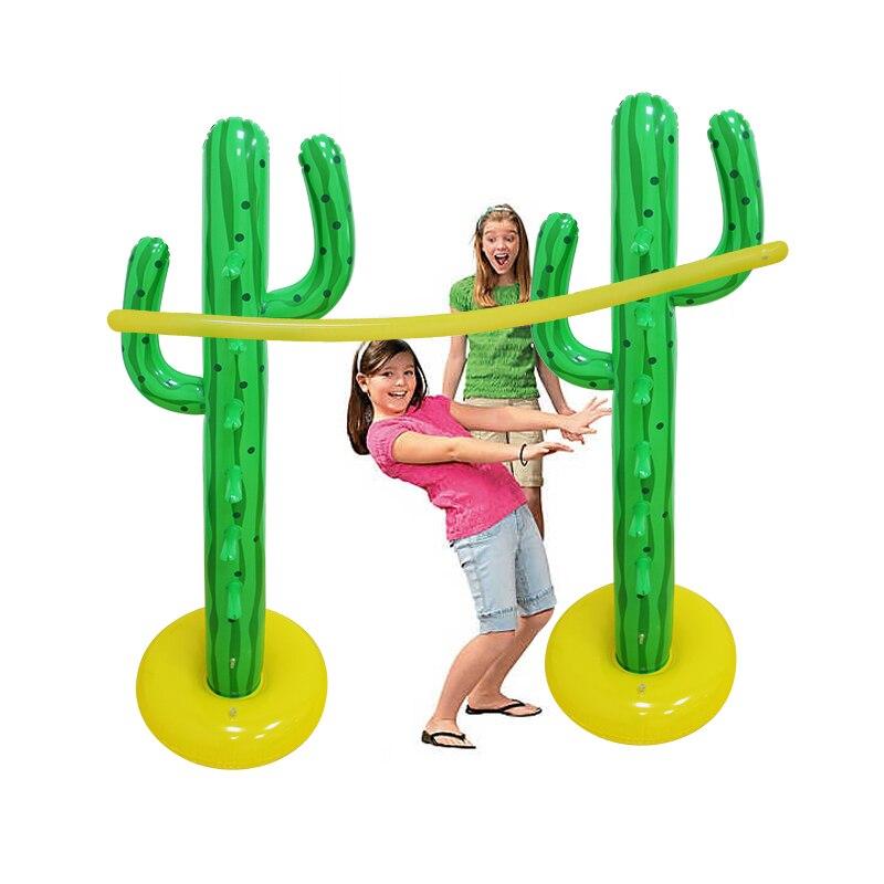 Гигантский кактус надувные игры Limbo игрушки для детей взрослых открытый газон игрушка бассейн аксессуары водяного летний пляжный песок дет...