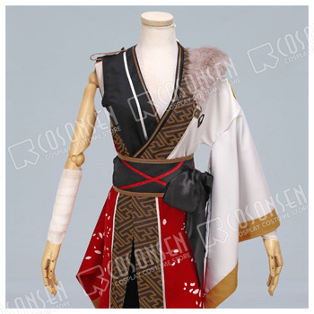COSPLAYONSEN Ensemble Stars AKATSUKI Kanzaki Souma Cosplay Costume red white Full Set