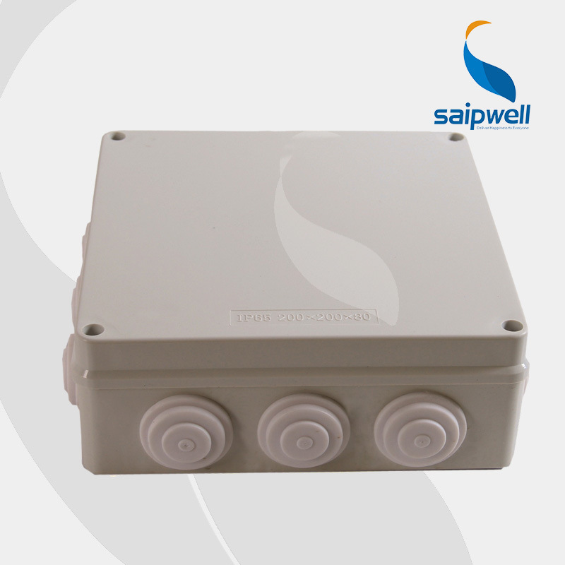 Lighting Accessories Ip66 Plastic Project Box 80*110*45mm Junction Box Distribution Enclosure Used With Connector Professional Design Connectors