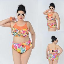 Sexy See Through Bikinis Women Swimsuit High Waisted Bathing Suits Swim Top Push Up Bikini Set Beach Plus Size Swimwear XXXL