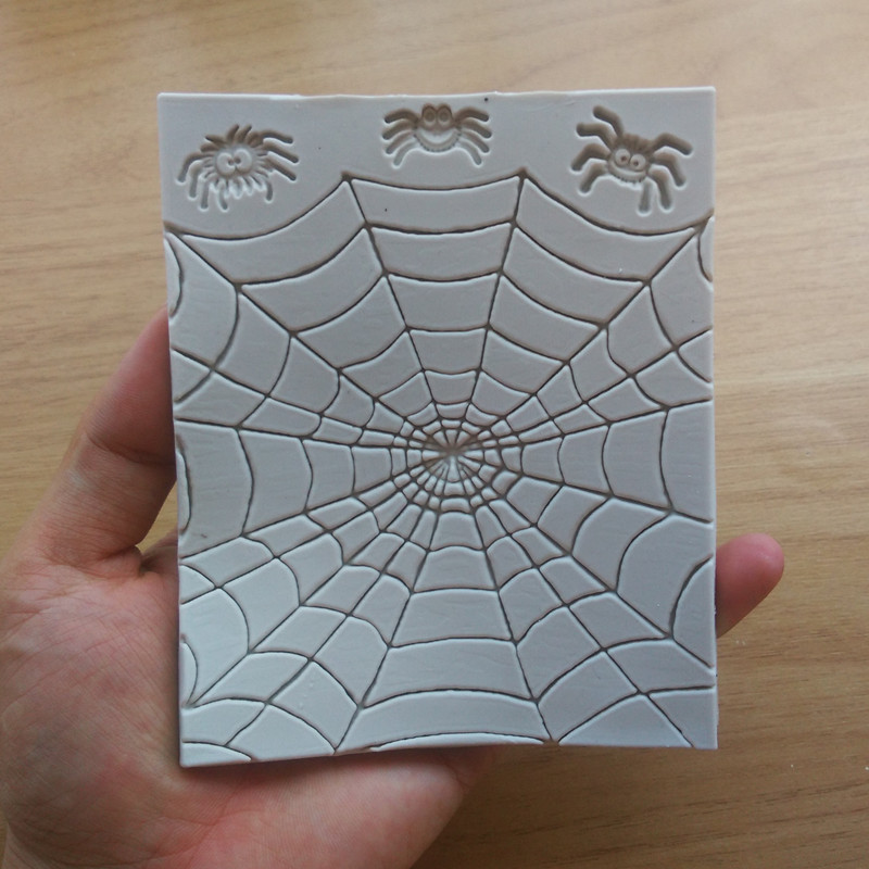 2018 Newest Halloween Spiders Web Silicone Sugarcraft Cake Decorating Mould C