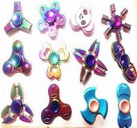 The New Style Magic Decompression Fingertips Adult Kids Fidget Spinner Finger Kids Anxiety Stress Relief Focus