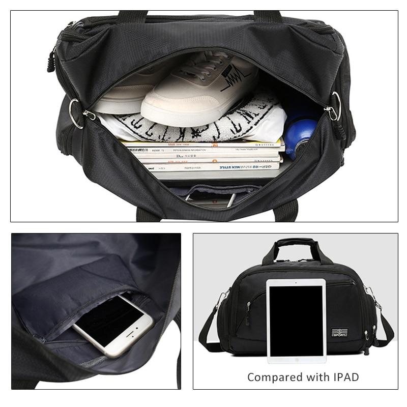 Special Hot Men Sports Gym Bags Women Fitness Training Shoulder Bag Travel Yoga Handbag Outdoor Waterproof Luggage Duffel Bags
