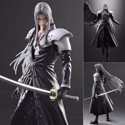 Play Arts Kai Final Fantasy 7 VII Sephiroth Action Figures Statue Collection Toy Anime Figure Collectible Model Toy final fantasy play arts kai action figure 250mm cloud sephiroth squall pvc anime toy collection model figurine play arts kai
