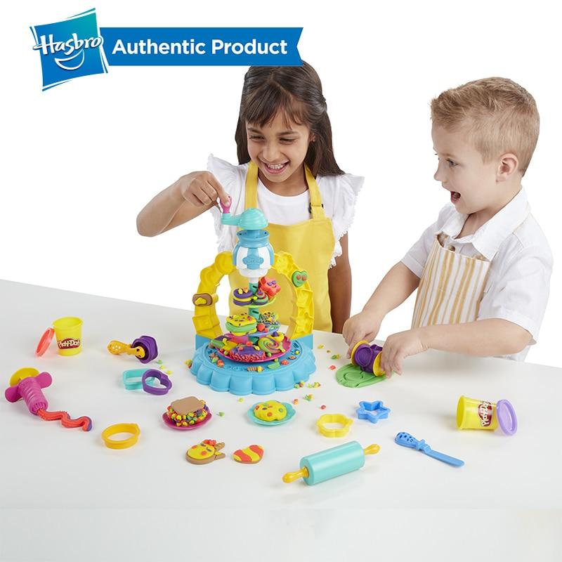 Hasbro play-doh cuisine créations saupoudrer Cookie Surprise jouer nourriture ensemble jouer Doh Non toxique pâte à modeler éducatifs bricolage jouets - 6