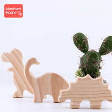 Mamihome Baby Wooden Teether Maple Dinosaurs Rodent Toys Home Decor Decoration Tooth Car ChildrenS Goods Girl