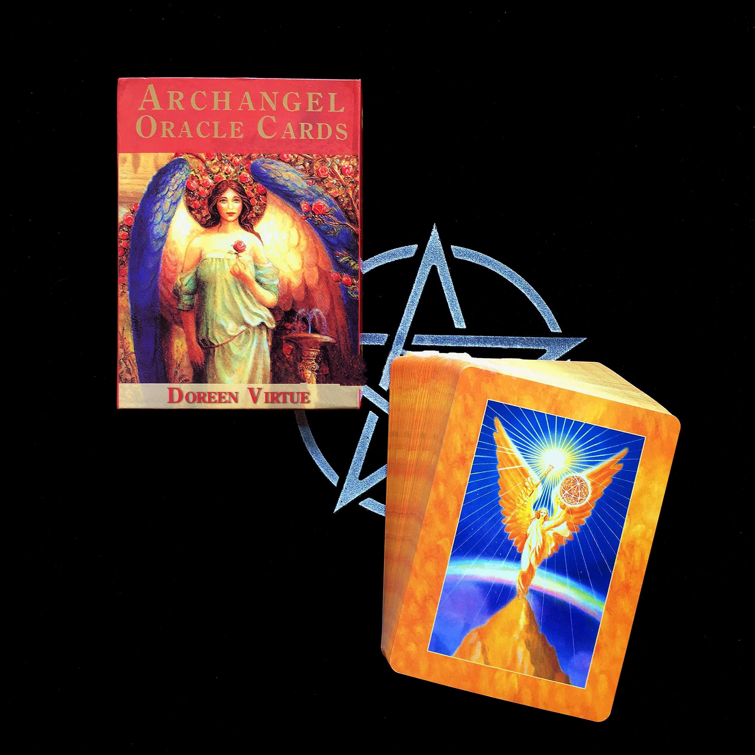大天使 Oracle カードタロットデッキカードフォーチュン神話運命占い読み取るゲーム 45-カード