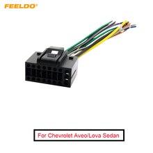 Connector Plug-Cable Wire-Harness Car-Radio Stereo FEELDO 16-Pin for CHEVROLET AVEO/LOVA