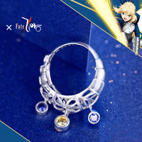 2019 Design Fate Zero Saber Ring Altria Pendragon Silver 925 Sterling Ring free with Rope Chain for Men Women Party Rings