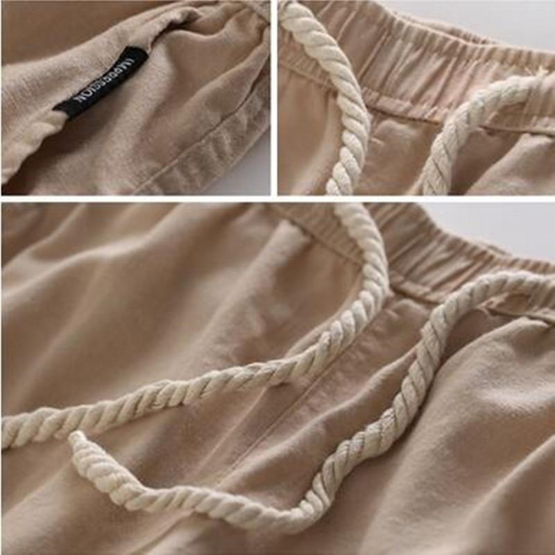 LEFT ROM νέα Μοντέρνο ανδρικό παντελόνι - Ανδρικός ρουχισμός - Φωτογραφία 5