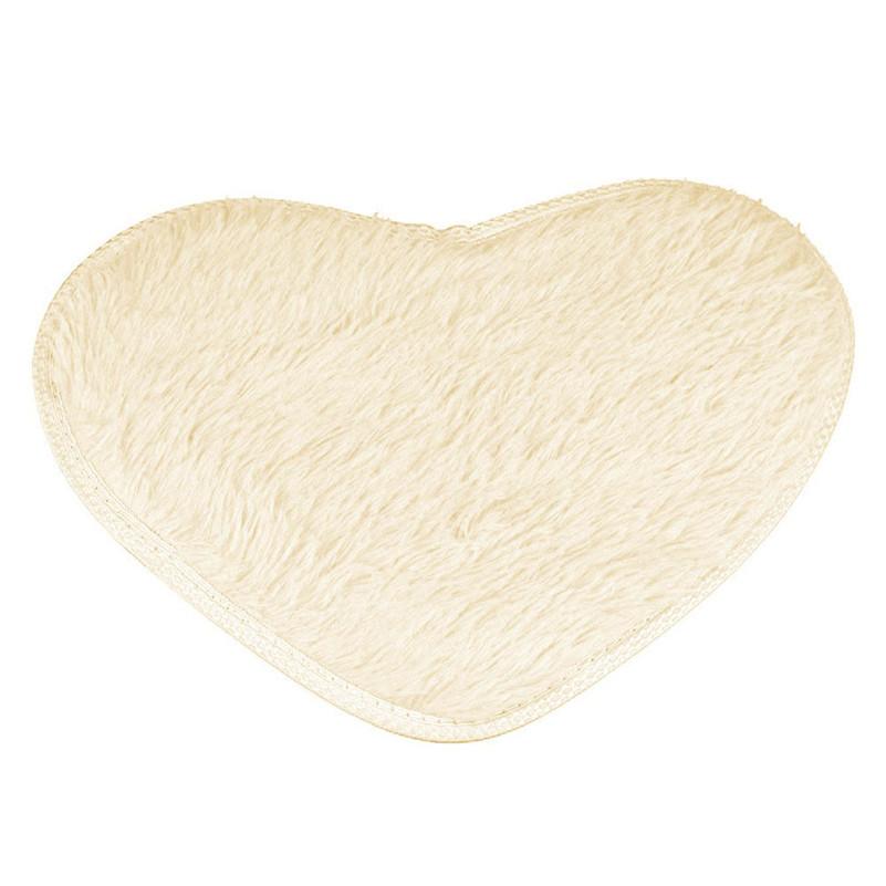 Tilluke südamekujuline vannitoamatt