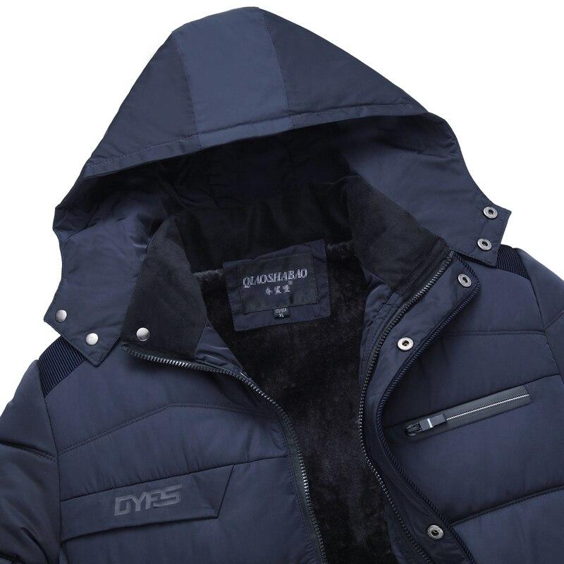 rembourré Doudounes Hommes Casual Hiver Épaississent Noir Chaud Manteaux bleu Père Le Pardessus S Coton Green 2017 Et Parkas Vers army Vestes Bas Vêtements qzOxA5Sx