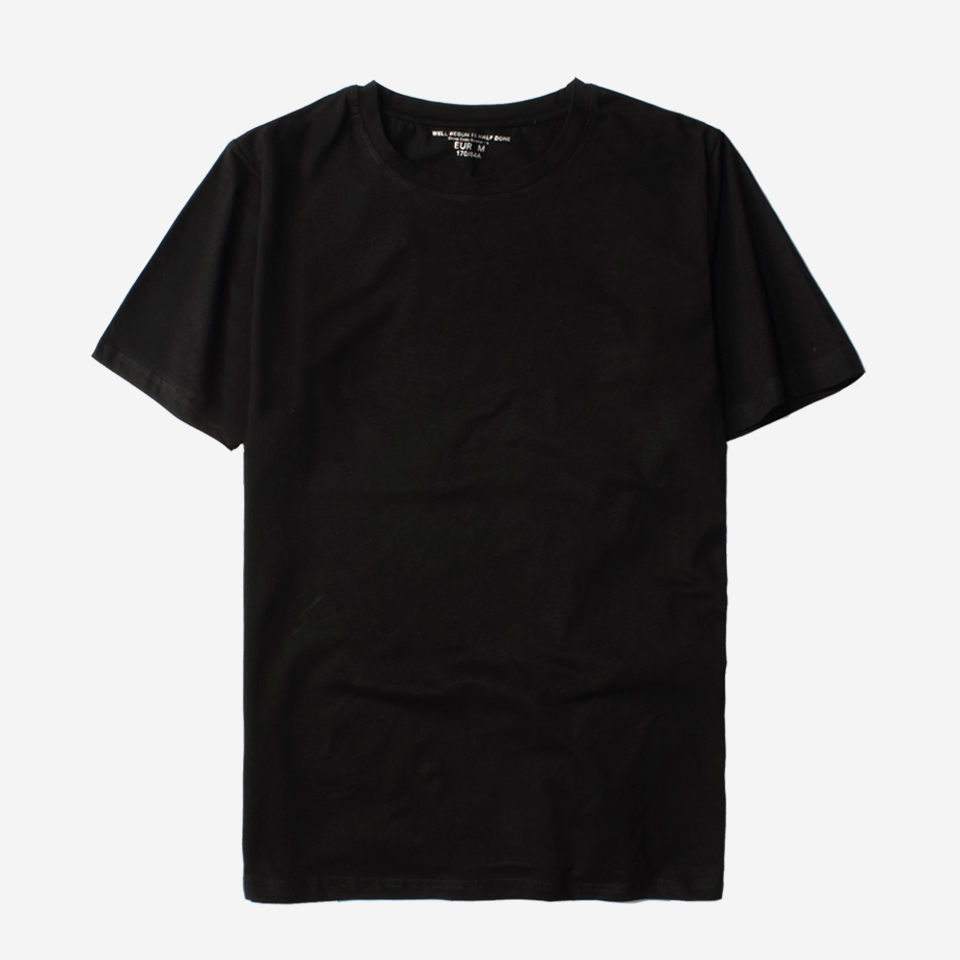 5eaedc366d6 BTS T shirt Men Black Summer T Shirt Men Short Sleeve Solid Casual White  Tshirt Men Pure Cotton Tee Shirt And Tops Plus Size-in T-Shirts from Men s  Clothing ...