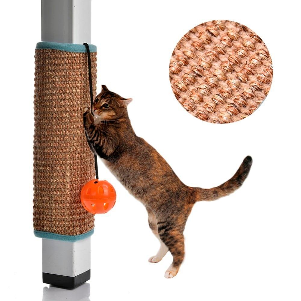 High Quality Sisal Cat Scratch Board Cat Scratcher Kitten  Mat Climbing Tree  Chair Table Mat Furniture Protector Cat  Play Toys #6
