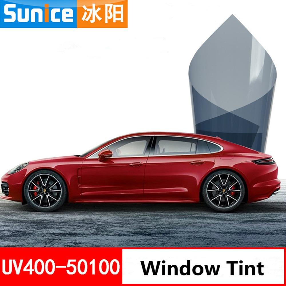 Insulate Car Windows: 1.52m X 5m Window Tint Film Glass 50% 2 PLY House